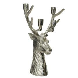 Porta Candele Silver Premium