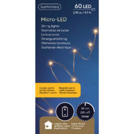 60 led • 2,95 m • luce calda