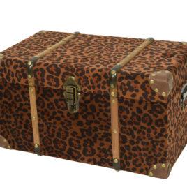 Baule Leopardato • 48x28x26 cm