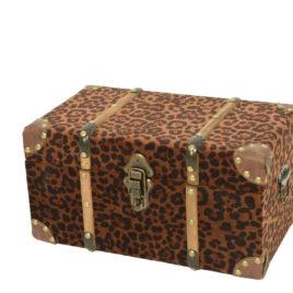 Baule Leopardato • 40x23x21 cm