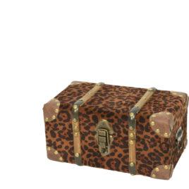 Baule Leopardato • 32x18x16 cm