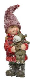 Bimba con renna