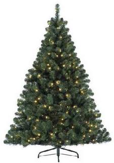 albero con luci