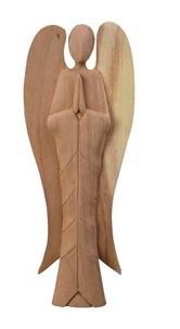 Angelo stilizzato in legno