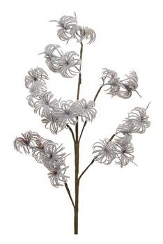 Ramo con fiori ghiacciati cm 90 Marrone