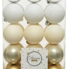 Confezione 30 palline diam. 6 cm luxury