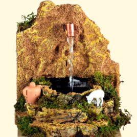 Fontana con pompa cm.10x13x12