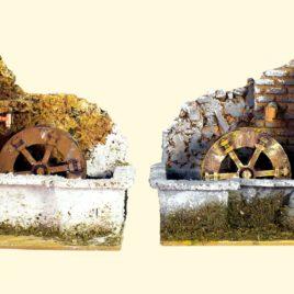 Mulino acqua con pompa cm20x14x16 assortito