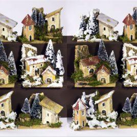 Casetta 10x6x8/10 con alberi assortita