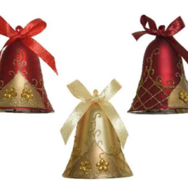 Confezione 12 campanelline assortite