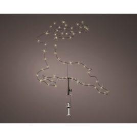 Cervo per balcone h 46 cm luce naturale