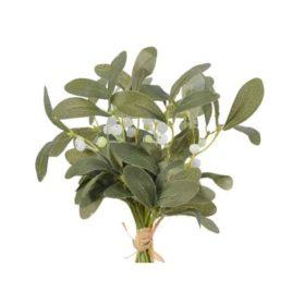 Mazzo agrifoglio verde cm.24