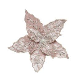 Stella di natale rosa chiaro d.20cm