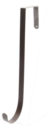 Gancio metallo porta ghirlanda h 28 cm