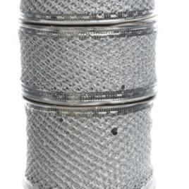 Nastro assortito argento
